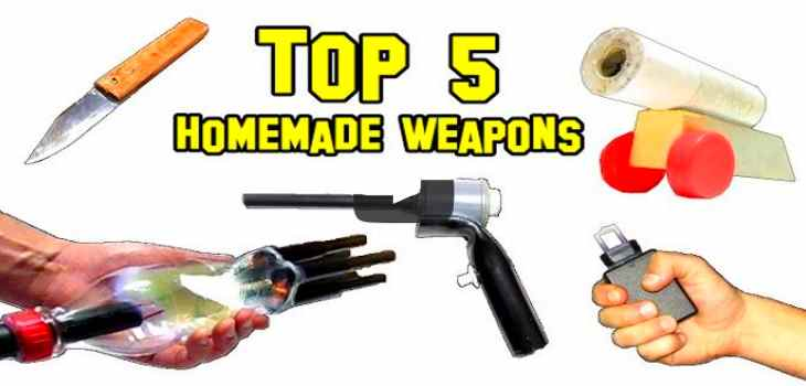 5 best homemade weapons