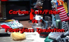 Best Alcohol Stove Material Carbon Felt vs Fiberglass Insulation
