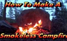 Smokeless campfire help