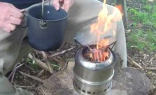 cheap wood gas camp stove review