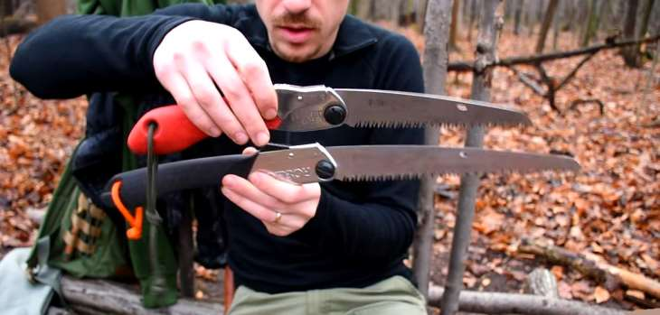 Comparing bushcraft and camping saws