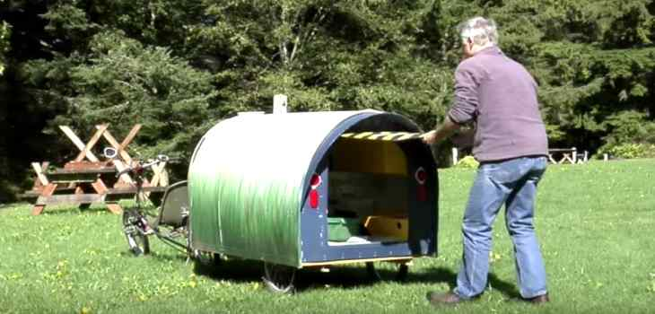 DIY Tiny Home Trailer