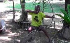 homemade bow and arrow for survival