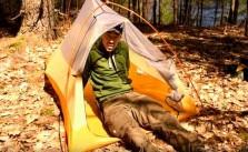 Bushcraft backpacking trip Canada