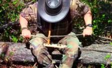 Make Natural Cordage Survival Friction Fire Starter
