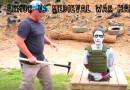 Body Armor Tested Vs Medieval War Hammer