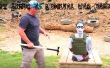 Body Armor Tested Vs Medieval War Hammer