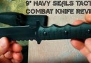 "9"" Navy SEALs Tactical Combat Bowie Knife Sale"