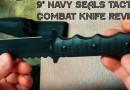 "9"" Navy SEALs Tactical Combat Bowie Knife Sale"