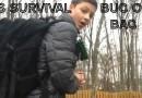 Kids survival bug out bag