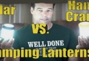 Hand Crank Lantern vs Solar Camping Lantern For Survival