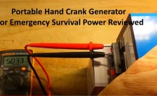 Portable Hand Crank Generator For Emergency Survival Power Reviewed